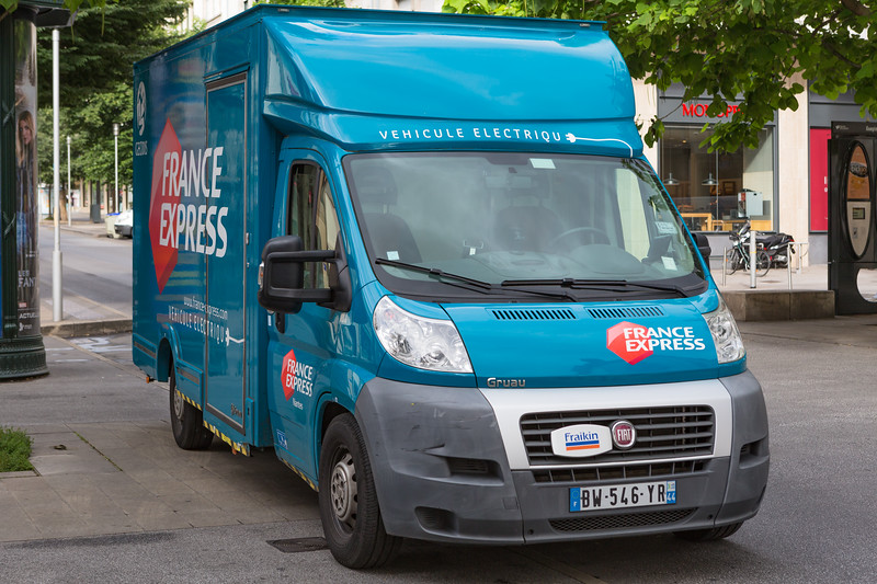 Fiat France Express Gruau electric truck Nantes France 280715 ©RLLord 8576 smg