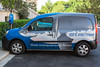 Renault Kangoo Z.E. electric van operated by the Oceanographic Museum of Monaco