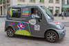 Titimobile electric vehicle passenger service in Nantes, France