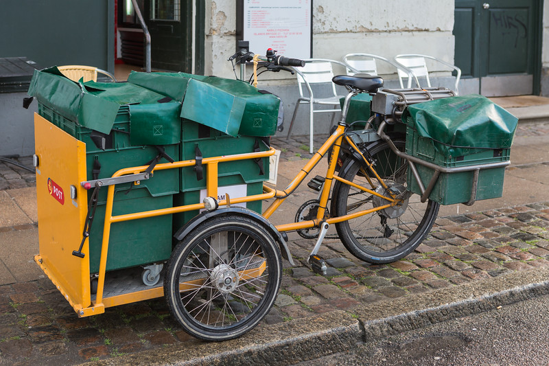 Post Danmark electric tricycle 261115 ©RLLord 7455 smg