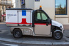 Ligier light electric utility vehicle in Paris, France