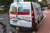 Renault Kangoo Z.E. electric van operated by Compagnie des Autobus de Monaco