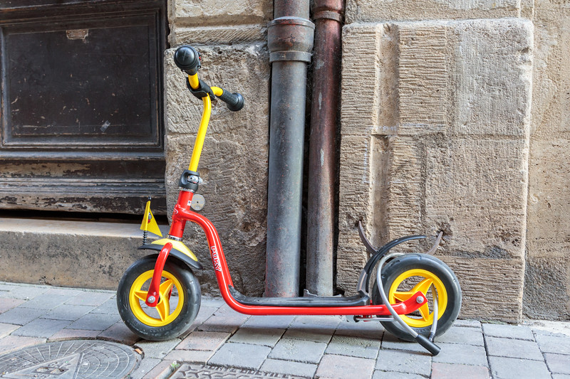 Scooters are increasingly popular as a method of urban mobility