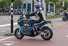 Storm Eindhoven electric touring motorcycle departs for a journey around the world in 80 days