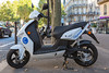 Govecs Go! S1.5 electric scooter used by Cityscoot's electric scooter rental service in Paris