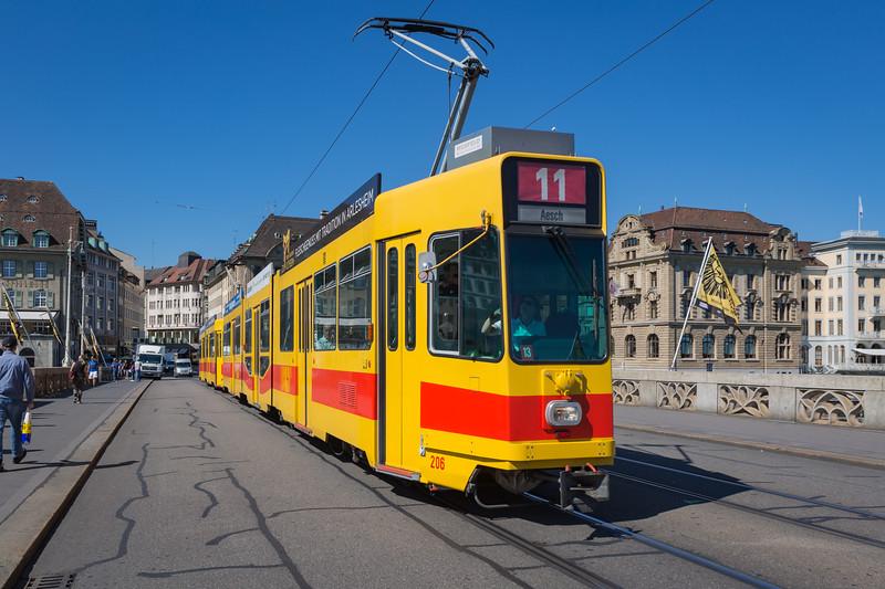 BLT Basel tramway Switzerland 030815 ©RLLord 0277 smg