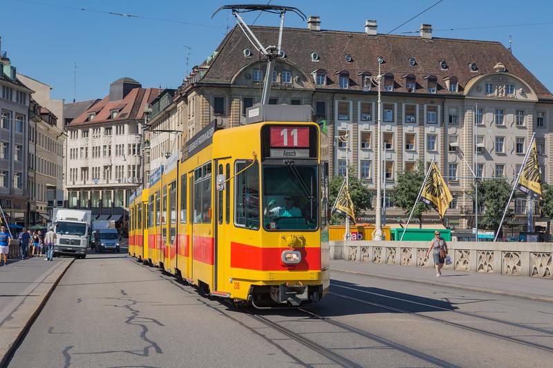 Basel tramway Switzerland 030815 ©RLLord 0275 smg