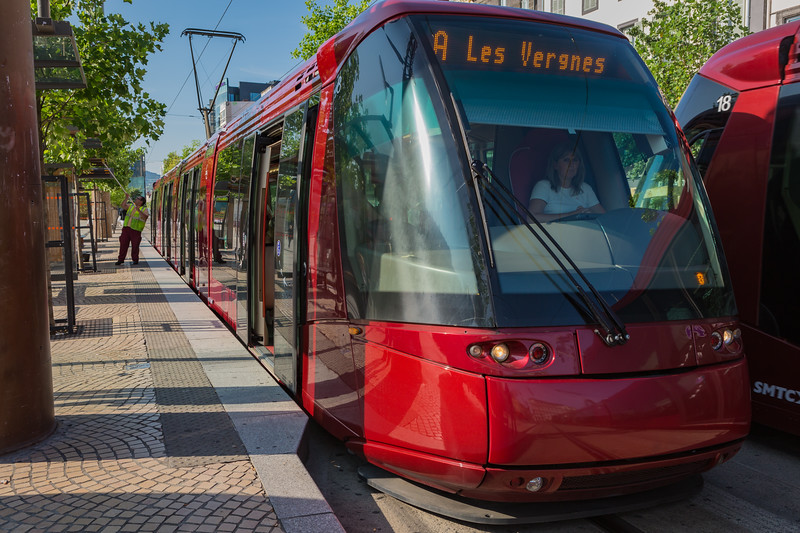 Tramway de Clermont-Ferrand France 050814 ©RLLord 5893 smg
