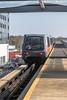 The driverless Gatwick Airport inter-terminal Shuttle train
