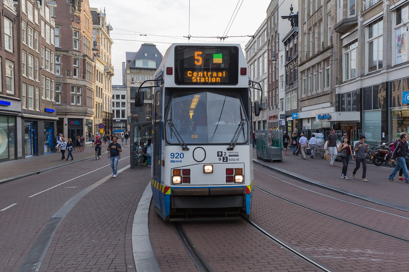 Amsterdam tram line 5 Netherlands 100815 ©RLLord 1748 smg