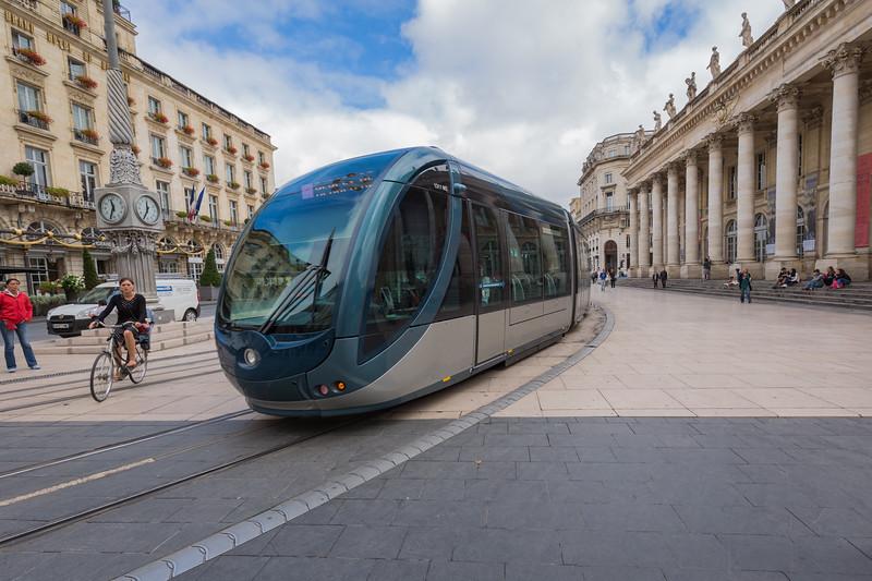 Tramway de Bordeaux France 290715 ©RLLord  smg