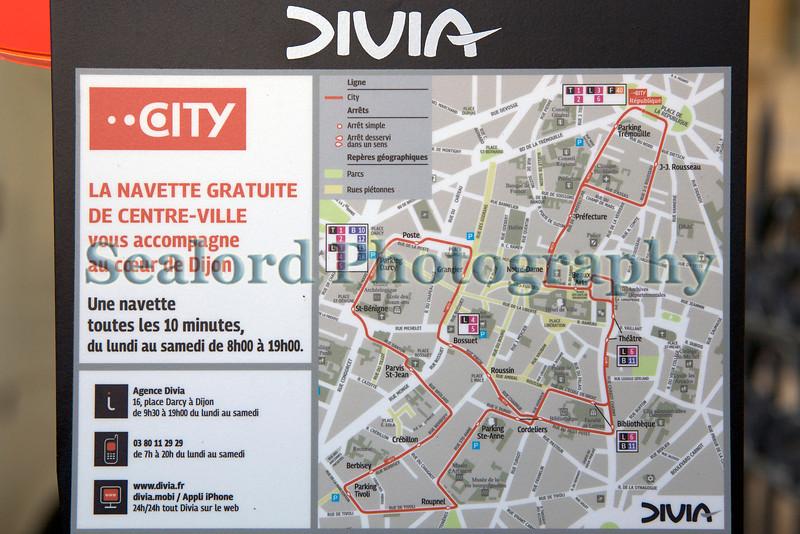Divia microbus shuttle bus route Dijon 030813 ©RLLord 8527 smg