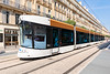 Bombardier Flexity Outlook tram on Rue de la Republique, Marseille, France