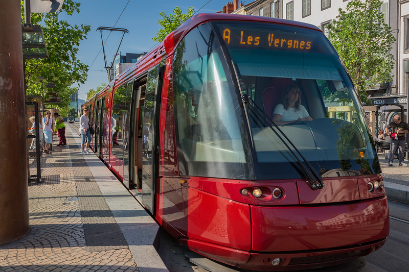 Tramway de Clermont-Ferrand France 050814 ©RLLord 5892 smg
