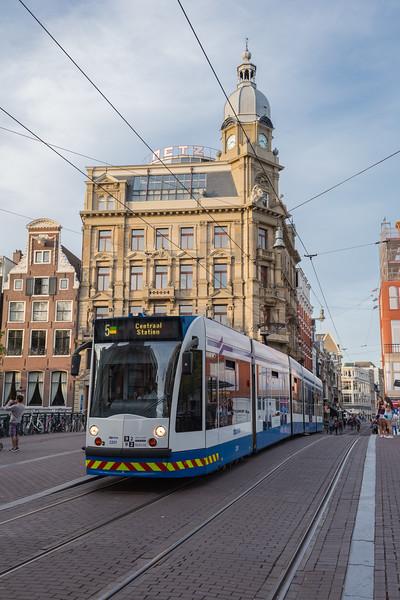 Amsterdam tram line 5 Netherlands 100815 ©RLLord 1751 smg