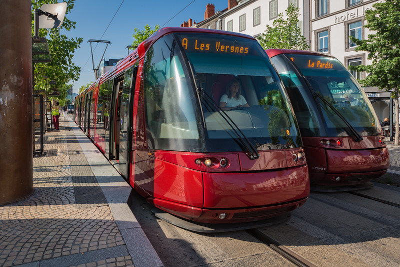 Tramway de Clermont-Ferrand France 050814 ©RLLord 5896 smg