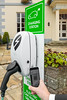 EO electric vehicle charging station at Hotel de Havelet, St Peter Port, Guernsey