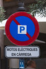 electric bike charging space sign Palma Mallorca Spain v 290614 ©RLLord 2740 smg-2
