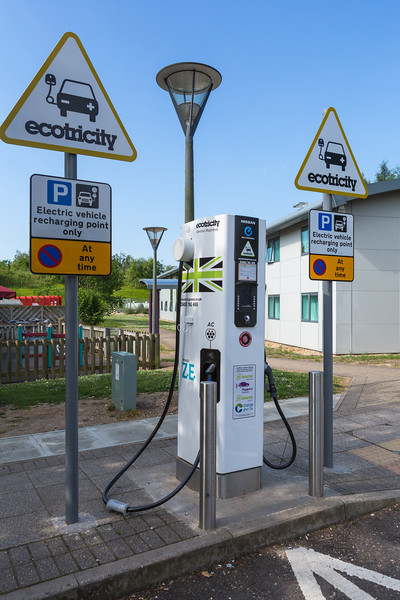 Ecotricity electric highway charger M3 motorway Winchester v 230614 ©RLLord 1705 smg