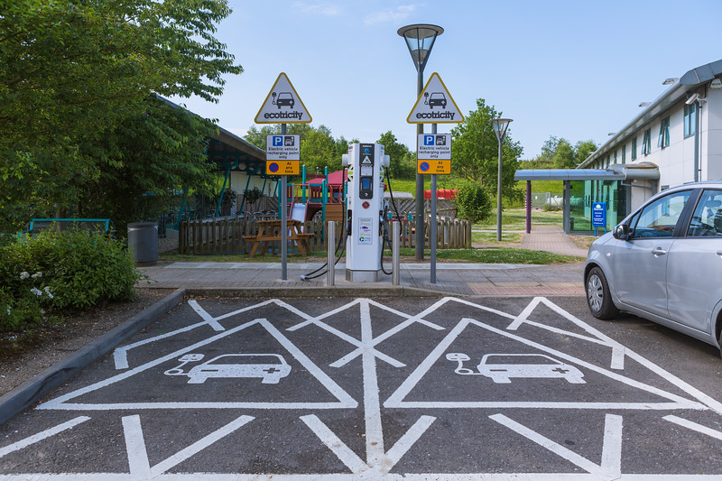 Ecotricity electric highway charger M3 motorway Winchester 230614 ©RLLord 1703 smg