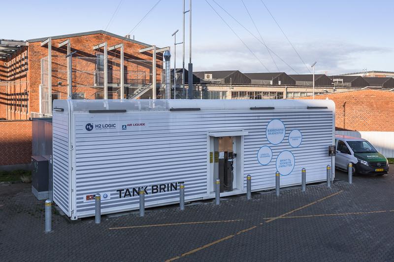 Hydrogen refuelling station in Copenhagen, Denmark