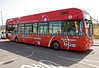 Hydrogen fuel cell powered London bus