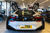 BMW i8 rear Jacksons Guernsey 210315 ©RLLord 9418 smg