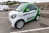 Electric Smart fortwo in St Peter Port, Guernsey