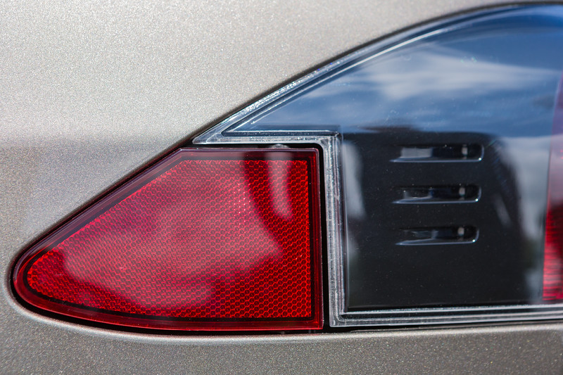 Tesla Model S P85 D hidden electric charging socket