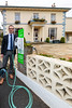 Hotel de Havelet General Manager next to the EO EV charge station