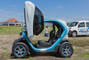 Renault Twizy at Guernsey electric vehicle open day 250616 ©RLLord 3837 smg