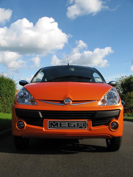 Guernsey Electric Car Company Mega City electric car