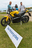 Zero motorcycle at the Guernsey Electric Vehicle Open Day at Vazon on Guernsey's west coast on 25th June 2016