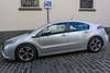 A Chverolet Ampera plug-in hybrid car in St Peter Port