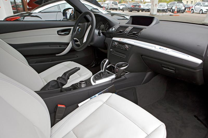 BMW Active E electric car interior 240513 ©RLLord 9940 smg
