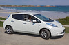 A Nissan Leaf from Freelance Motors by L'Ancresse, Guernsey