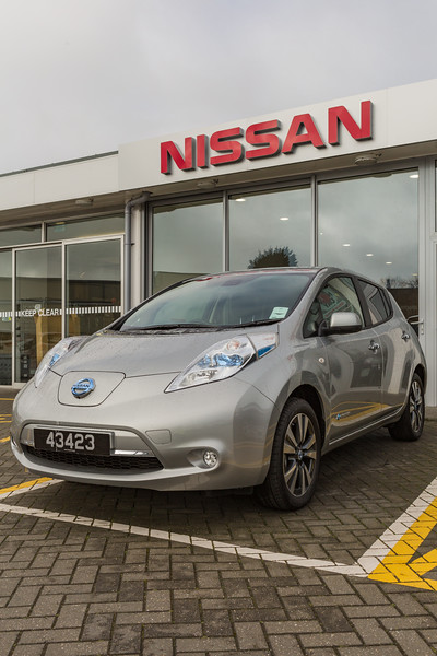 Nissan Leaf Freelance Motors St Sampson 250215 ©RLLord 6879 smg
