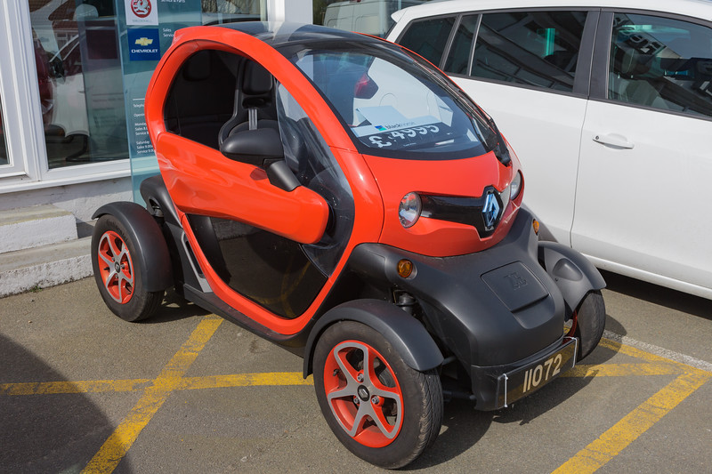 Renault Twizy at Freelance Motors in St Sampson