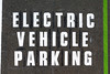 Electric Vehicle Parking space at North Beach car park, St Peter Port, Guernsey