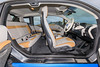 Interior of a range extender BMW i3 from Jacksons in Guernsey