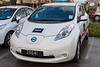 DHS uses a fleet of three Nissan Leaf electric cars