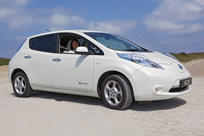 Nissan Leaf electric car La Jaonneuse 250513 ©RLLord 0024 smg
