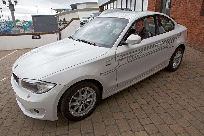 BMW Active E electric car MotorMall Guernsey 240513 ©RLLord 9932 smg