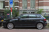 Audi e-tron plug-in hybrid charging in Amsterdam, Netherlands