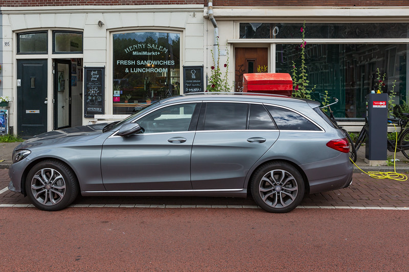 Mercedes C350e electric plug-in hybrid Amsterdam 050816 ©RLLord 8639 smg