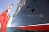 Queen Elizabeth cruise ship starboard side