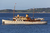 Fair Lady anchored in Havelet Bay off Guernsey's east coast