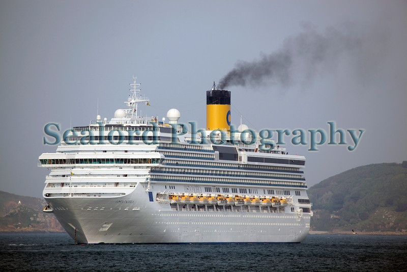 Costa Pacifica cruise ship underway 210512 ©RLLord 2932 smg