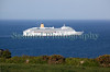P & O Cruise's Aurora passenger ship departs Guernsey waters