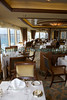 Queen Elizabeth grill restaurant with St Peter Port in distance 110911 ©RLLord 0537 smg